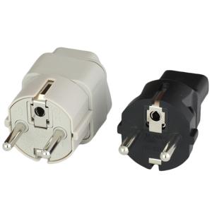 European Schuko CEE7/7 Plug Adapters