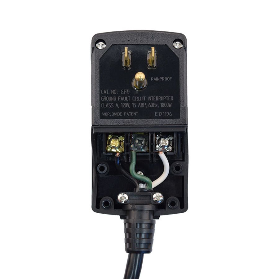 Buy Manual Reset User Attachable Gfci Plug Head Style How To Install Ground Fault Circuit Interrupter