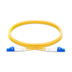 OS2 LC-LC Singlemode Fiber Optic Patch Cables - Yellow