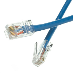 Unshielded CAT6 Blue Ethernet Patch Cable - Bootless